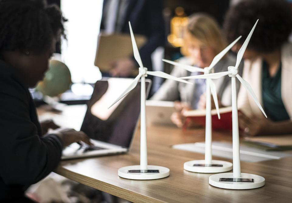 Alternative Energy, Business People, Businessman