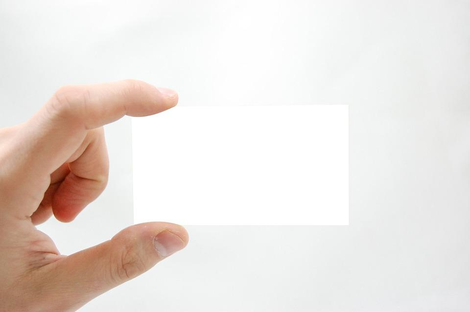 Business Card, Business, The Hand, Marketing