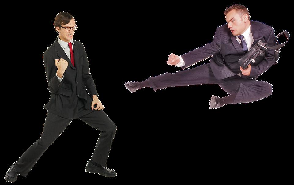 Fight, Conflict, Quarrel, Showdown, Battle, Businessman
