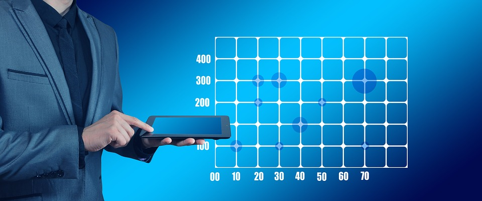 Tablet, Businessman, Touch Screen, Touch, Graphic