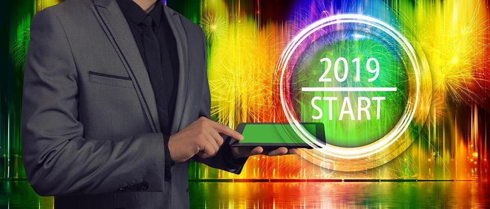 New Year's Day, Beginning, Kaufmann, Businessman