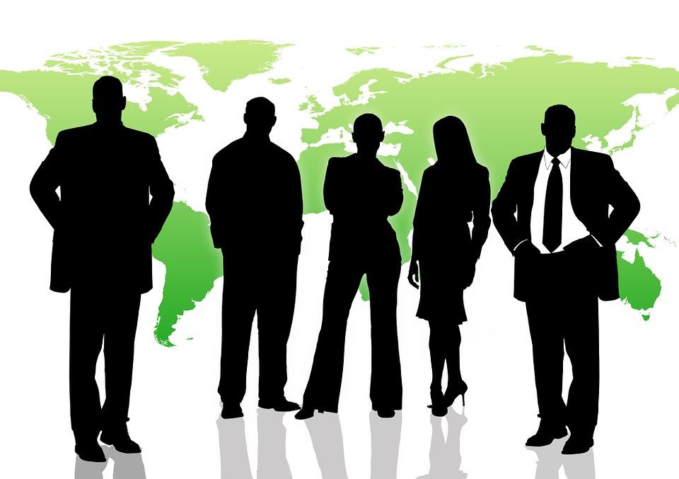 Man, Woman, Businessmen, Economy, Development, Earth