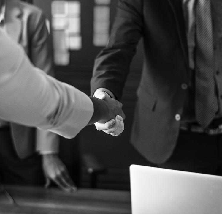 Agreement, Black And White, Business, Businesspeople