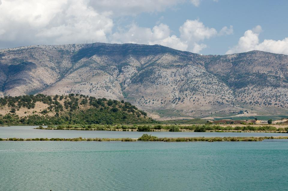 Butrint, Lake, Butrintsee, Albania, Water, Waters