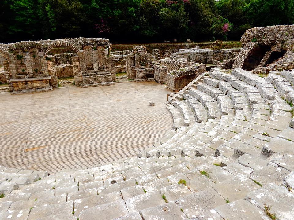 Albany, Butrint, Travel, Roman Amphitheater