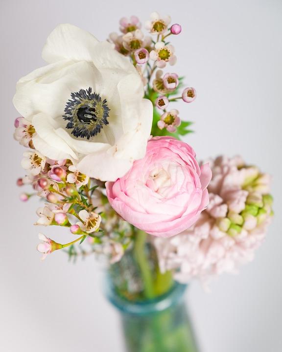 Free photo Buttercup Flowers Hyacinth Bokeh Bouquet Anemone - Max Pixel