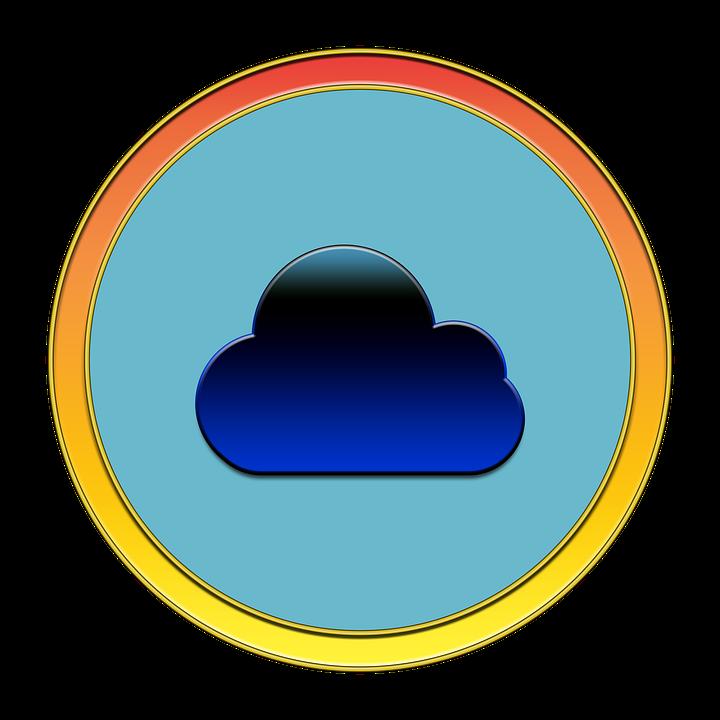Cloud, Icon, Button, Media, Cloud Icon, Symbol