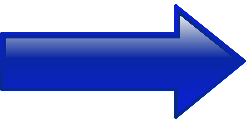 Button, Arrow, Blue, Right, Shape, Pointing
