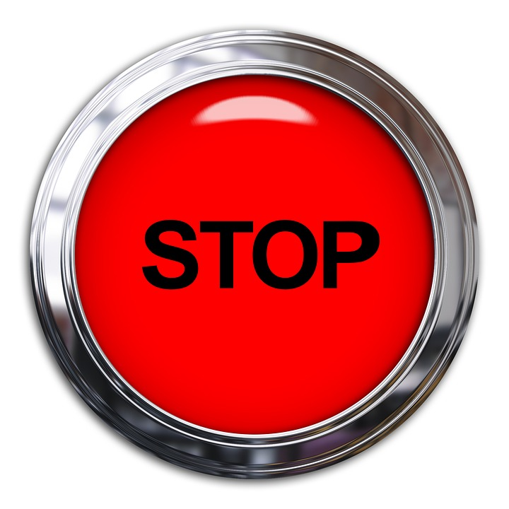 Free Photo Button Symbol Sign Stop Light Red Warning Max Pixel