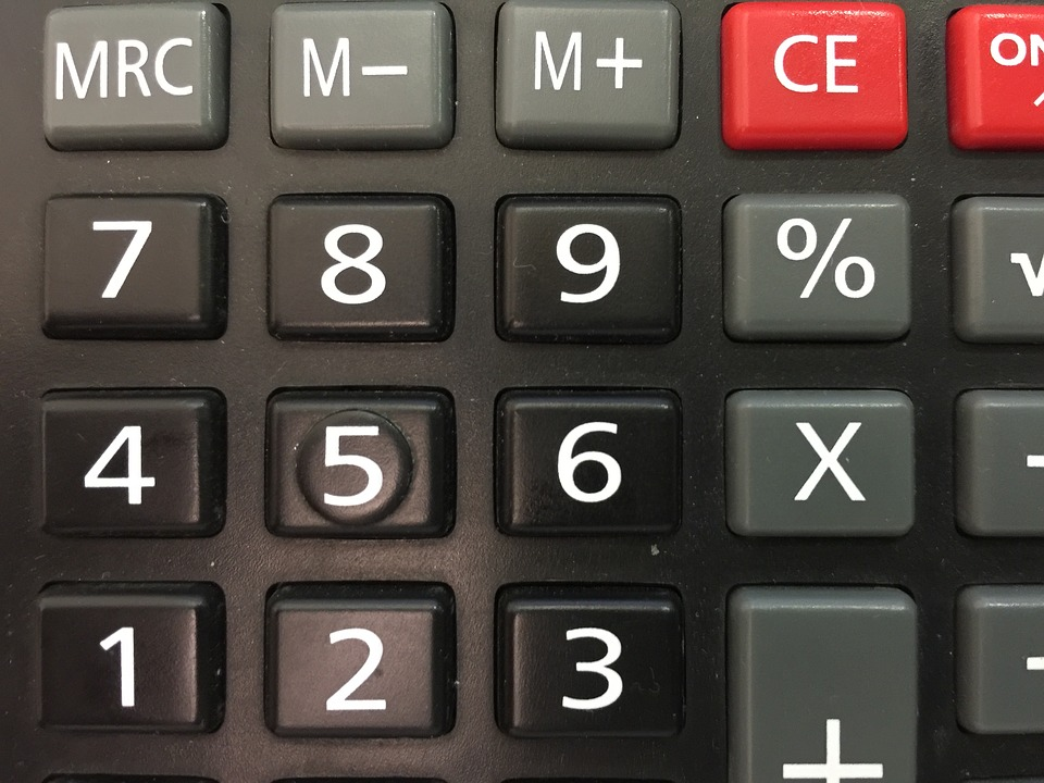 One, Calculator, Black, Number, Buttons, Tell, Device
