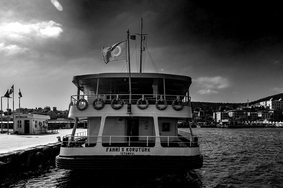 Sea, Day, Marmara, Istanbul, Turkey, Buyukada