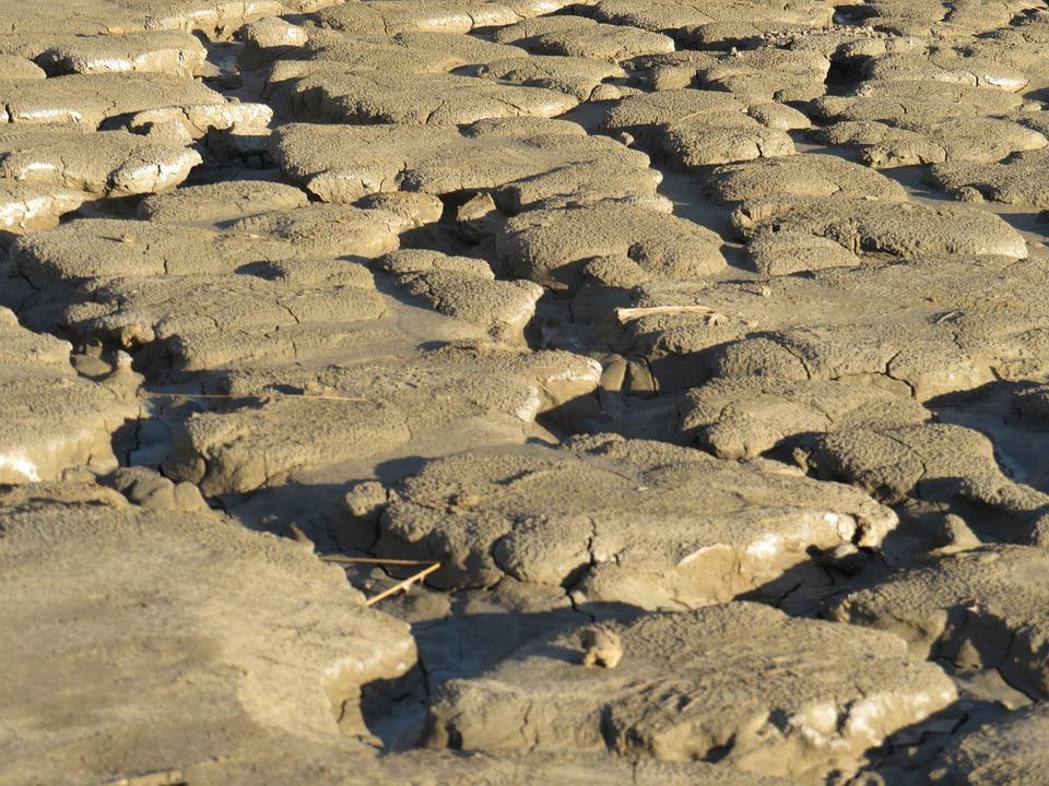 Muddy Volcanoes, Romania, Buzau, Outdoor, Muddy, Nature
