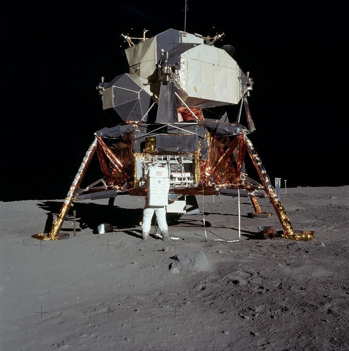 Moon Landing, Apollo 11, Buzz Aldrin, Lunar, Moon, Luna