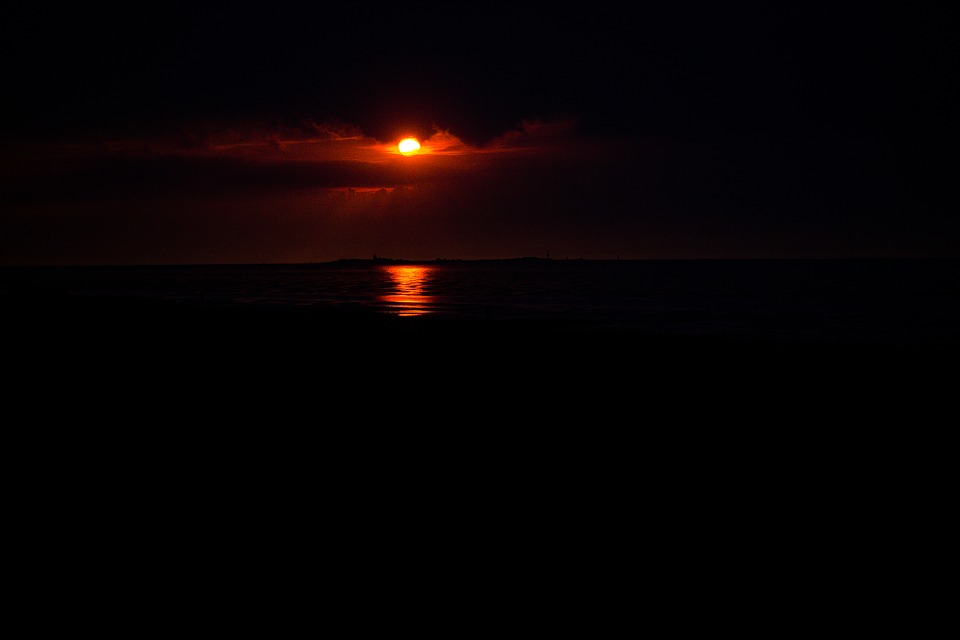 Sunset, Sun, By The Sea, Most Beach, Lake, Scotland