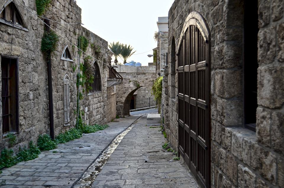 Alley, Beirut, Byblos, Lebanon, Old City