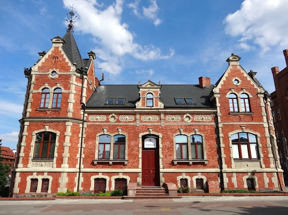 Lloyd Palace, Bydgoszcz, Building, Historic, Monument