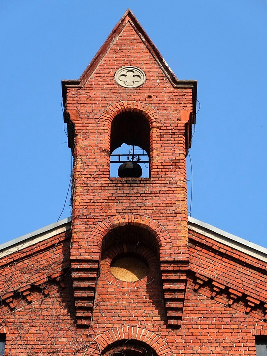Bydgoszcz, Architecture, Gable, Pediment, Turret