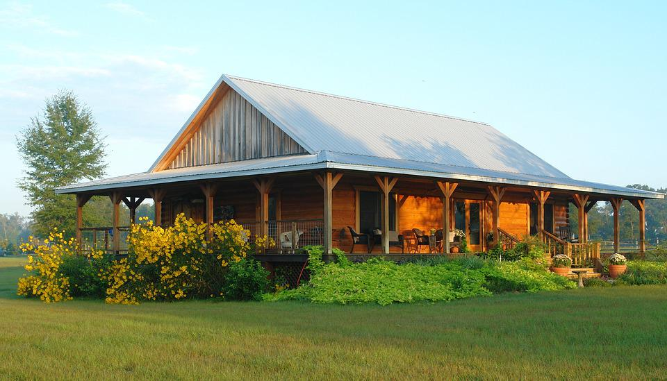 Log Home, Farm, Home, Log, Wooden, Old, House, Cabin