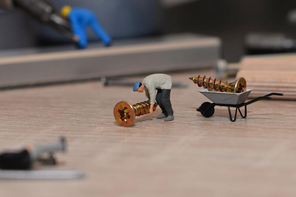 Tiny People, Little Helper, Cabinet Build