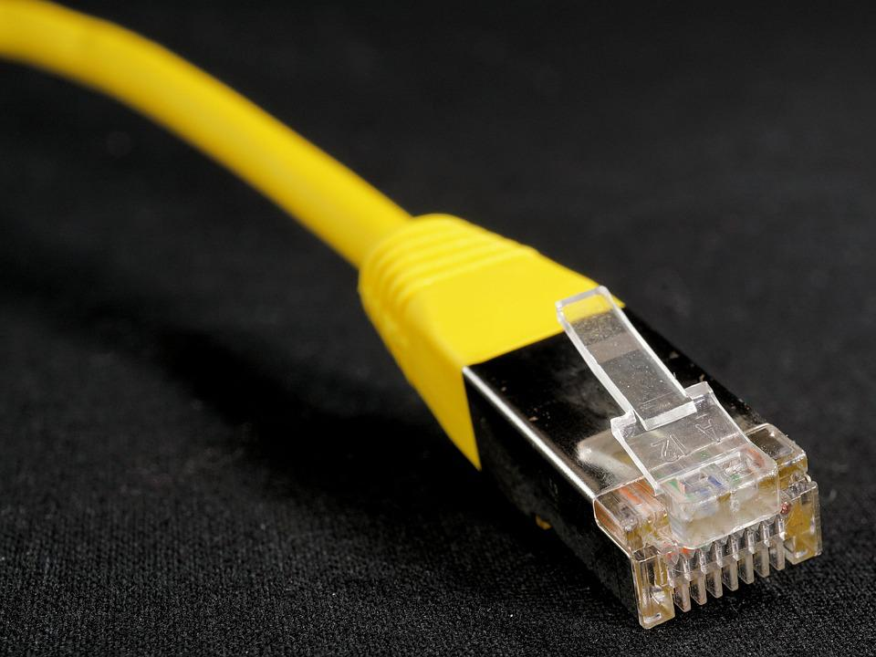Lan, Cable, Network, Connection, Wire, Cork, Data