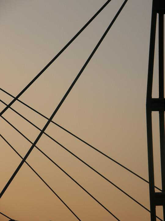Lines, Cables, Roof, Span