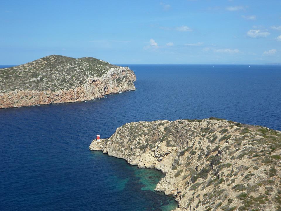 Balearic Islands, Cabrera, Harbour Entrance