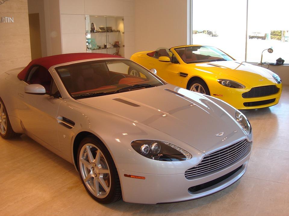 Aston Martin, Racing Car, Sports Car, Cabriolet