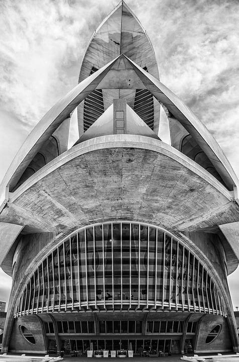 Cac, City Of Sciences, Calatrava, Valencia