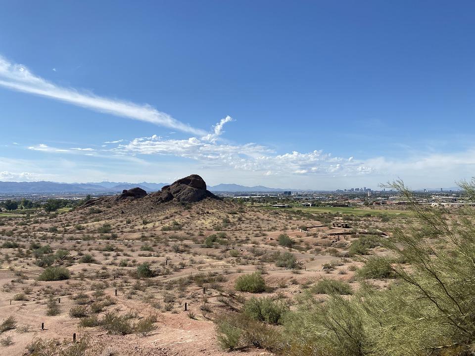 Desert, Phoenix, Arizona, Hi, Scottsdale, Cactus
