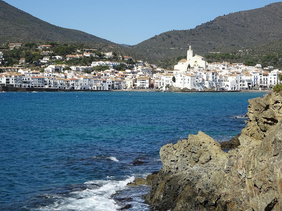 Costa, Sea, Travel, Beach, Cadaqués, Mediterranean