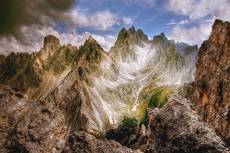Cadini Di Misurina, Sentiero Bonacossa, Dolomites