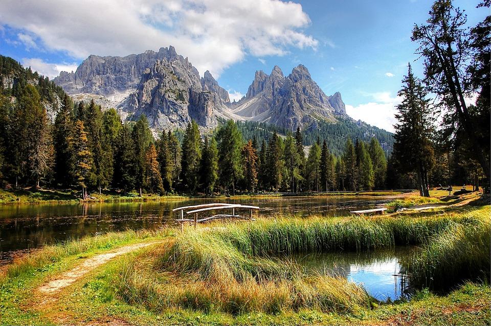 Cadini, Dolomites, Mountains, South Tyrol, Landscape