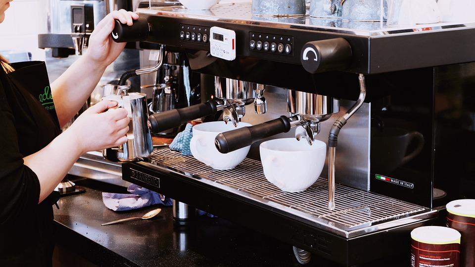 Beverage, Café, Coffee Machine, Coffee Maker, Cups