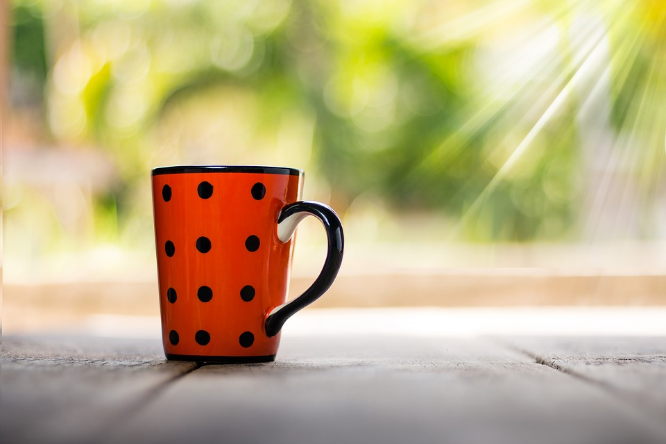 Cup, Coffee, Vintage, Drink, Cafe, Closeup, Bokeh
