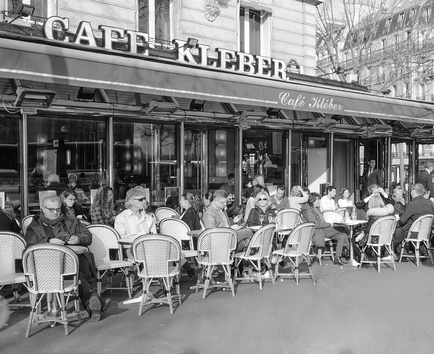 Paris, Cafe Kleber, Tourism, Travel