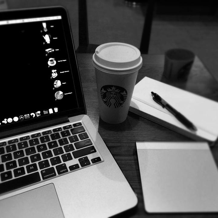Coffee, Apple, Macbook Pro, Java, Cafe, Caffeine, Work