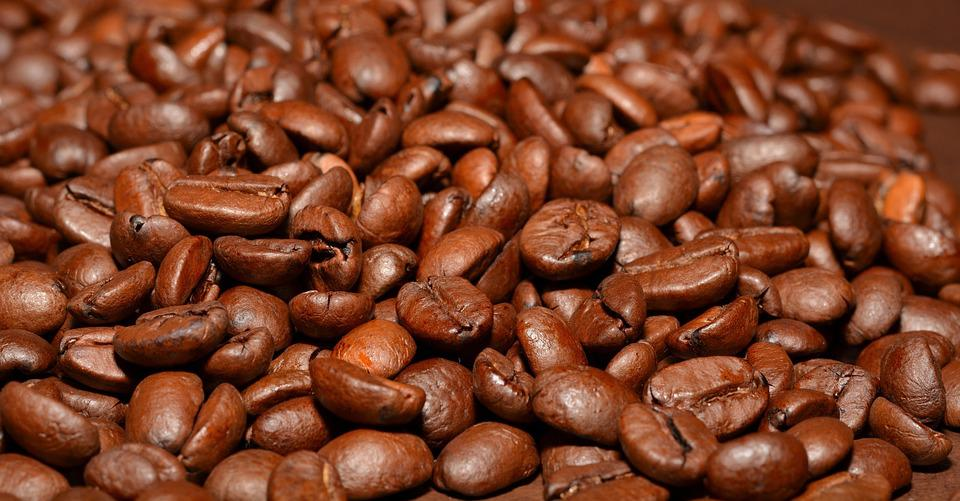 Coffee, Beans, Brown, Roasted Coffee Beans, Caffeine