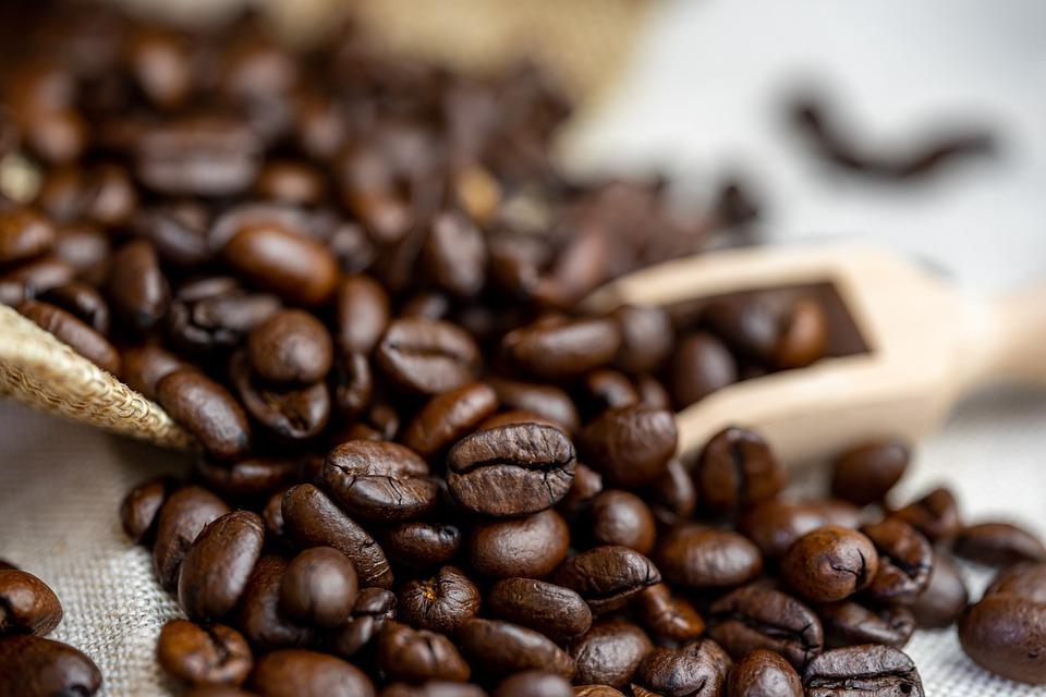 Coffee Beans, Coffee, Spoon, Jute, Caffeine, Beans
