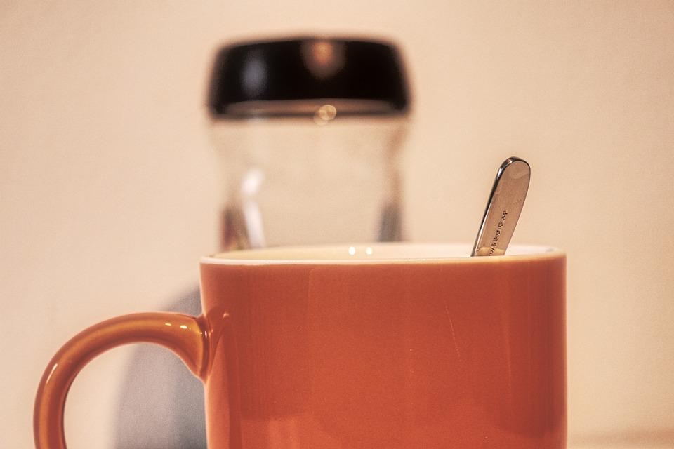 T, Spoon, Coffee Cup, Coffee, Caffeine, Break