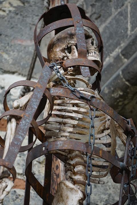 Skeleton, Cage, Sternum, Design, Human, Structure, Rip