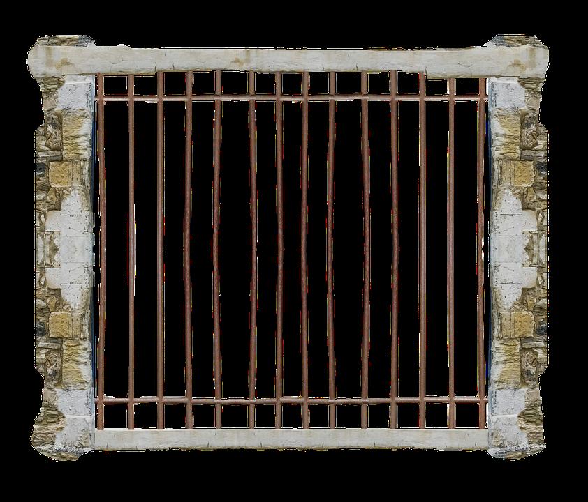 Cage, Jail, Transparent, Prison, Cell, Security