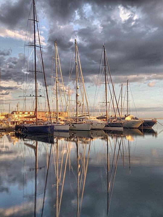 Cagliari, Italy, Cagliari Italy, Italian Sailboats