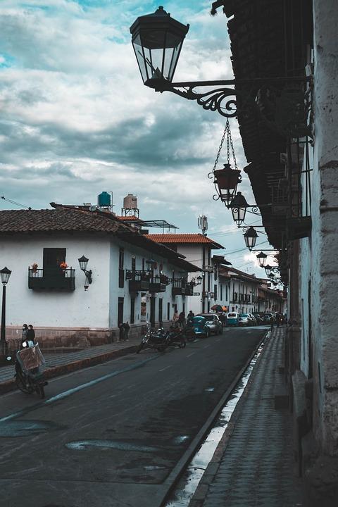 Streets, Cajamarca, Baroque, Cold