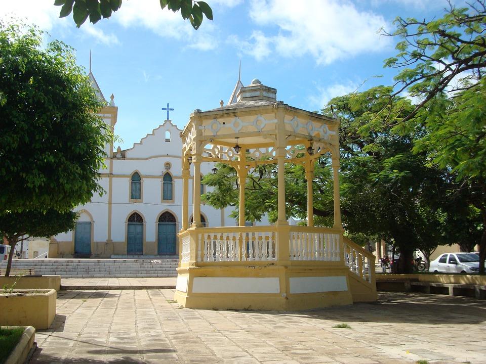 Gazebo, Center, Cajazeiras-pb