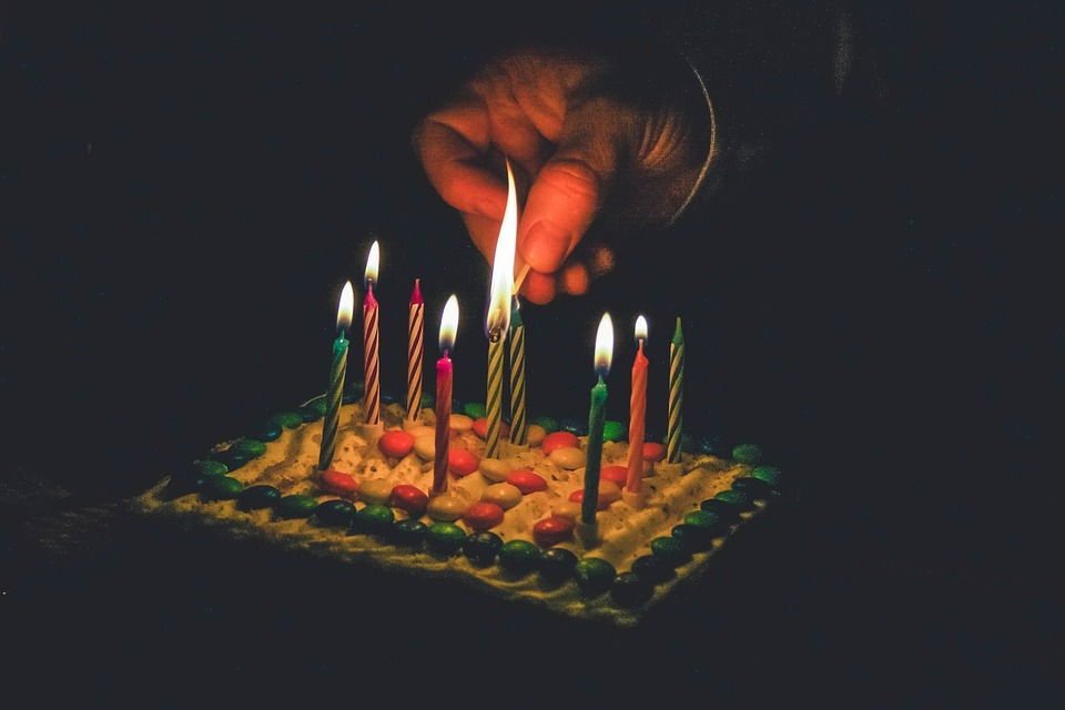 Free Photo Cake Birthday Cake Birthday Cake And Candles Candles Max Pixel