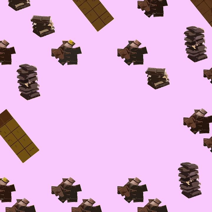Chocolate, Pattern, Food, Candy, Sweet, Cake, Dessert