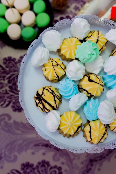 Cookies, Sweet, White, Delicious, Biscuit, Cake, Food