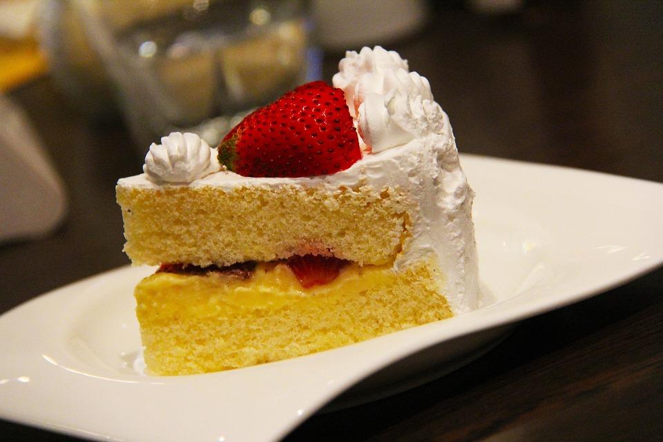 Cake, Dessert, Strawberry, Yummy, Delicious, Singapore