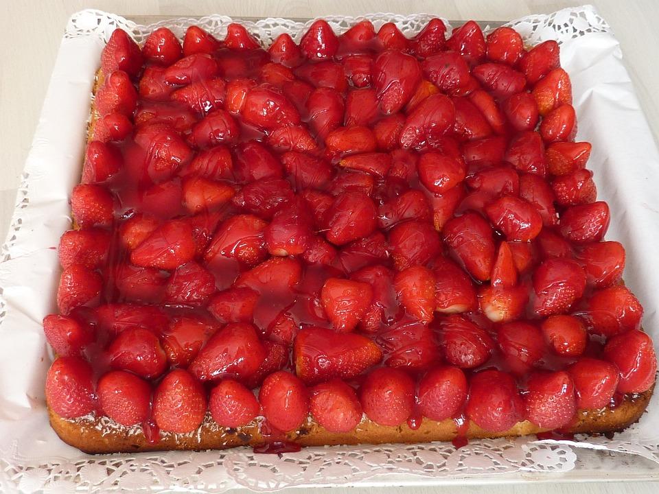 Strawberry Pie, Strawberry, Strawberry Cake, Cake