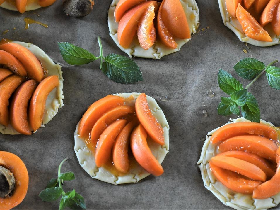 Apricots, Cake, Tartelette, Sweet, Sugar, Eat, Fruits
